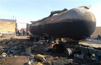 ضبط سائق تسبب في إشعال النيران لسرقته الغاز.. ننشر تفاصيل انفجار مستودع بأبوتشت بقنا | صور