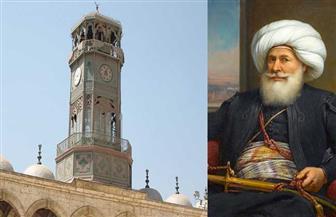 في ذكرى وفاة محمد علي باشا.. هذه قصة الساعة التي أهداها ملك فرنسا لمصر والمئذنة الفخمة | صور