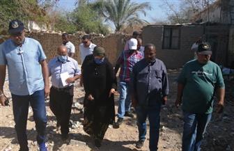 رئيسة مدينة سفاجا تتفقد تقسيمات الأحياء الجديدة للحد من التعديات خلال فترة العيد | صور