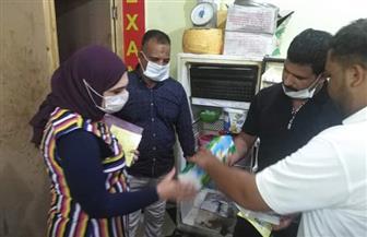 إعدام 25 كيلو أغذية متنوعة منتهية الصلاحية وتحرير 23 مخالفة خلال حملة تموينية بالقصير | صور
