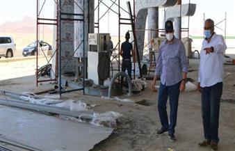 محافظ جنوب سيناء يتفقد أعمال المشروعات التنموية بنطاق جامعة الملك سلمان الدولية| صور