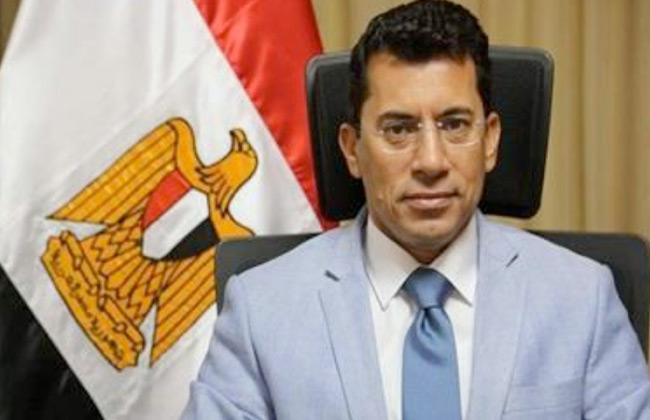 وزير الشباب والرياضة يفتتح المشروع القومي للإسكواش ببورسعيد