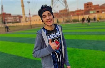 طالب الثانوية العامة بكفرالشيخ الذي تعرض للتنمر بكلية التربية الرياضية يروي ما تعرض له | صور