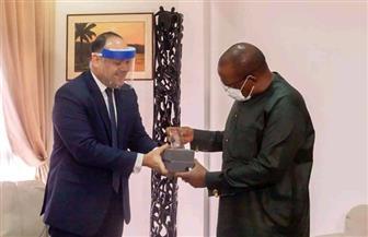 السفير المصري في كوناكري يلتقي رئيس وزراء غينيا | صور