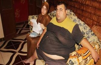 وفقا لتوجيهات الرئيس السيسي.. وزيرة الصحة: نقل مريض السمنة المفرطة من الغربية لبدء برنامج العلاج بالقاهرة صور