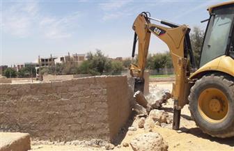 تنفيذ 18 حالة إزالة تعد على أملاك الدولة والأراضي الزراعية بسوهاج