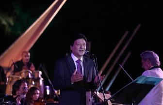 محمد الحلو يتألق على مسرح النافورة مع نجوم الأوبرا