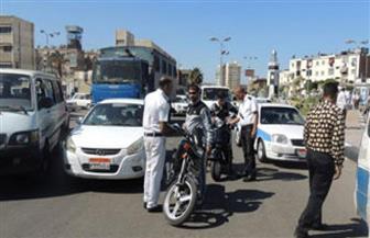 تحرير 657 مخالفة مرورية فى حملة على الطرق الرئيسية والسريعة بسوهاج