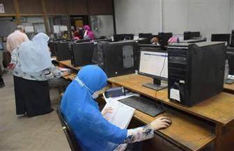 """معامل تنسيق جامعة القاهرة تبدأ عملها.. و""""الخشت"""": 320 جهاز حاسب آلي للطلاب صور"""