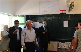 محافظ كفر الشيخ يتفقد لجان الثانوية العامة.. ويوجه بتوفير الهدوء للطلاب| صور