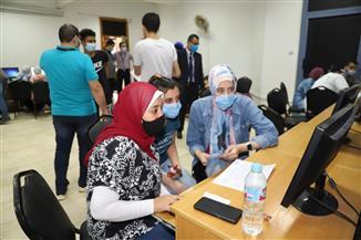 13 معمل حاسب آلي لطلاب الثانوية العامة بجامعة عين شمس لخدمة تنسيق الجامعات | صور