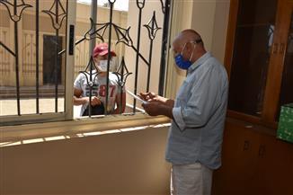 لأول مرة.. مكتب التنسيق بجامعة عين شمس يستقبل طلاب الثانوية العامة وسط إجراءات احترازية | صور