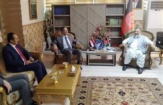سفير مصر في كابول ووزير الشئون الدينية يبحثان سبل تطوير مجالات التعاون المشترك