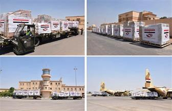 مصر ترسل ثامن رحلات الجسر الجوي من المساعدات العاجلة للبنان