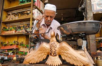 الحياة في ميزان عم سيد|صور