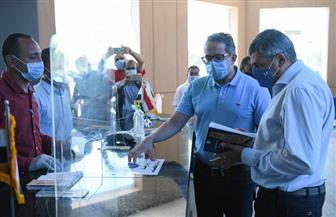 الأمين العام لمنظمة السياحة العالمية يبدي إعجابه بمتحف الغردقة | صور