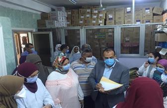 تعافي وخروج 283 حالة من مصابي فيروس كورونا بحميات قنا   صور