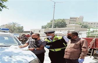 تغريم 76 سائقا لعدم التزامهم بارتداء الكمامة بالشرقية