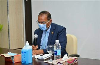 مجلس جامعة أسوان يعتمد لوائح كليتي السياحة والفنادق وكلية طب الفم والأسنان | صور