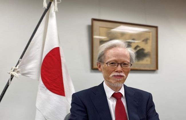 سفير اليابان ينعي محمود العربي ;حزنت لوفاته وتأثرت بشدة بإرادته وموهبته كرجل أعمال;