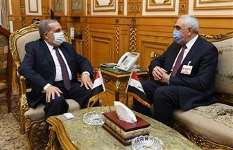 وزير الإنتاج الحربي يبحث مع سفير العراق مجالات التعاون في التصنيع المشترك