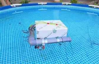 «روبوت لتنظيف الأنهار».. مشروع تخرج إبداعي لطلاب هندسة حلوان