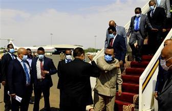 رئيس الوزراء الإثيوبي يصل السودان  فيديو