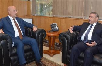 وزير الإسكان يلتقى رئيس اتحاد المقاولين العراقيين لبحث سبل التعاون المشترك ونقل الخبرات المصرية | صور