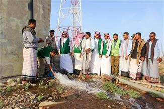 مدير البرنامج السعودي في سوقطري: ننفذ مشروعات للاستفادة من الأمطار الموسمية في الزراعة ومياه الشرب | صور