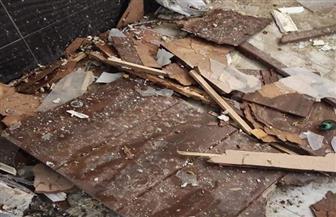 انفجار سخان كهربائي داخل شقة بالتجمع الأول| صور