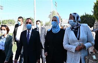 «القباج» تزور مجمع الدفاع الاجتماعي بالإسكندرية | صور