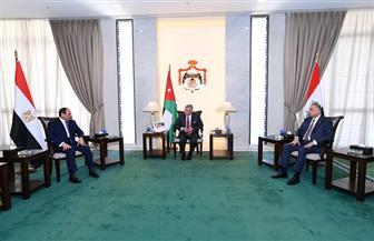 متحدث الرئاسة: قمة عمان الثلاثية تناولت قضايا الطاقة والربط الكهربائي والبنية الأساسية