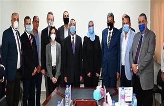 تفاصيل زيارة وزيرة التضامن الاجتماعي للإسكندرية | صور