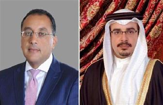 ولي العهد البحريني يتلقي اتصالا هاتفيا من رئيس الوزراء مصطفى مدبولي