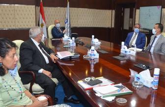 وزير الإسكان يستعرض مشروع مخطط تنمية البوابة الاقتصادية الشمالية الشرقية لمصر «باب مصر» | صور