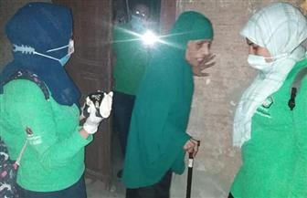 القباج توجه بتقديم كافة أوجه الدعم لسيدة مسنة بلا مأوى| صور