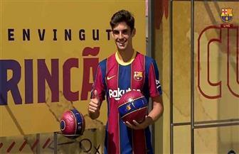 برشلونة يقدم صفقته «كريستيانو رونالدو الجديد» إلى وسائل الإعلام