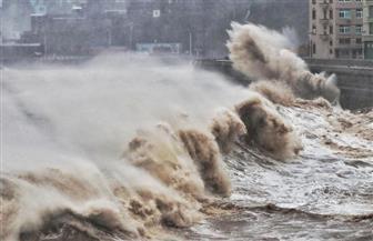 الإعصار بافي يعلق الدراسة بشمال شرقي الصين