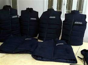 تصنيع أكثر من 5 آلاف قطعة ملابس للعاملين بمياه سوهاج | صور