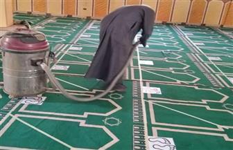 مساجد الأقصر تواصل إجراءات التعقيم لعودة صلاة الجمعة| صور