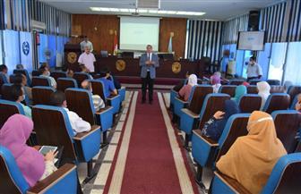 جامعة سوهاج تنظم ورشة تدريبية عن جائزة التميز الحكومي بالتعاون مع التخطيط| صور