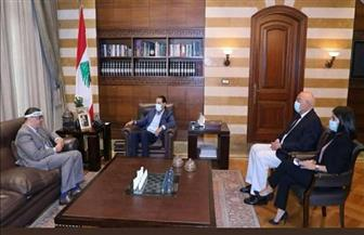سفير مصر ببيروت يناقش مع برى والحريرى إجراءات إنهاء الفراغ الحكومي والتعجيل بتشكيل الحكومة | صور