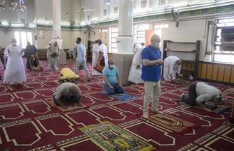 1243 مسجدا بالأقصر تستقبل المصلين في عودة صلاة الجمعة وسط إجراءات احترازية |صور