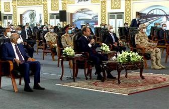 الرئيس السيسي: هناك محاولات للتشكيك في المشروعات القومية التى تنجزها الدولة دائما