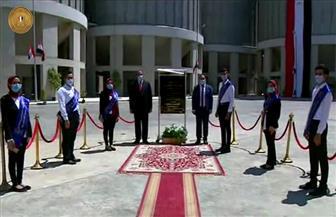 الرئيس السيسي يشهد افتتاح مجمع الصوامع ببرج العرب بطاقة 90 ألف طن