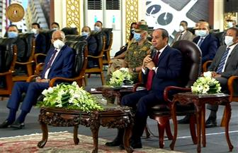 الرئيس السيسي: الدين الخارجي تحت السيطرة ونقترض بشروط ميسرة للحفاظ على معدل النمو
