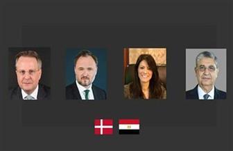 وزيرا التعاون الدولي والكهرباء يوقعان اتفاقية شراكة مع الدنمارك