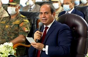 الرئيس السيسي يفتتح مشروعي «بشائر الخير 2» ومحور أبو قير بالإسكندرية