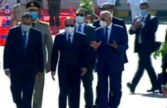 الرئيس السيسي يشهد افتتاح مسجد الشهيد عبدالمنعم رياض بالإسكندرية