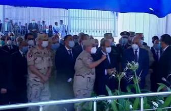 جولة تفقدية للرئيس السيسي في مشروع تطوير محور المحمودية بالإسكندرية